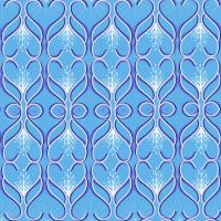 Fresh Blu Seamless Pattern Set