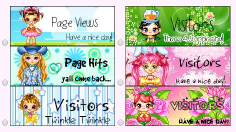 Cute Web Page Counters