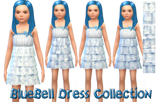 BlueBell Dress Collection in 6 Patterns